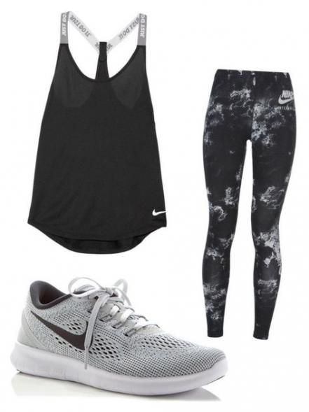 Fitness style nike polyvore 61+ new Ideas #fitness