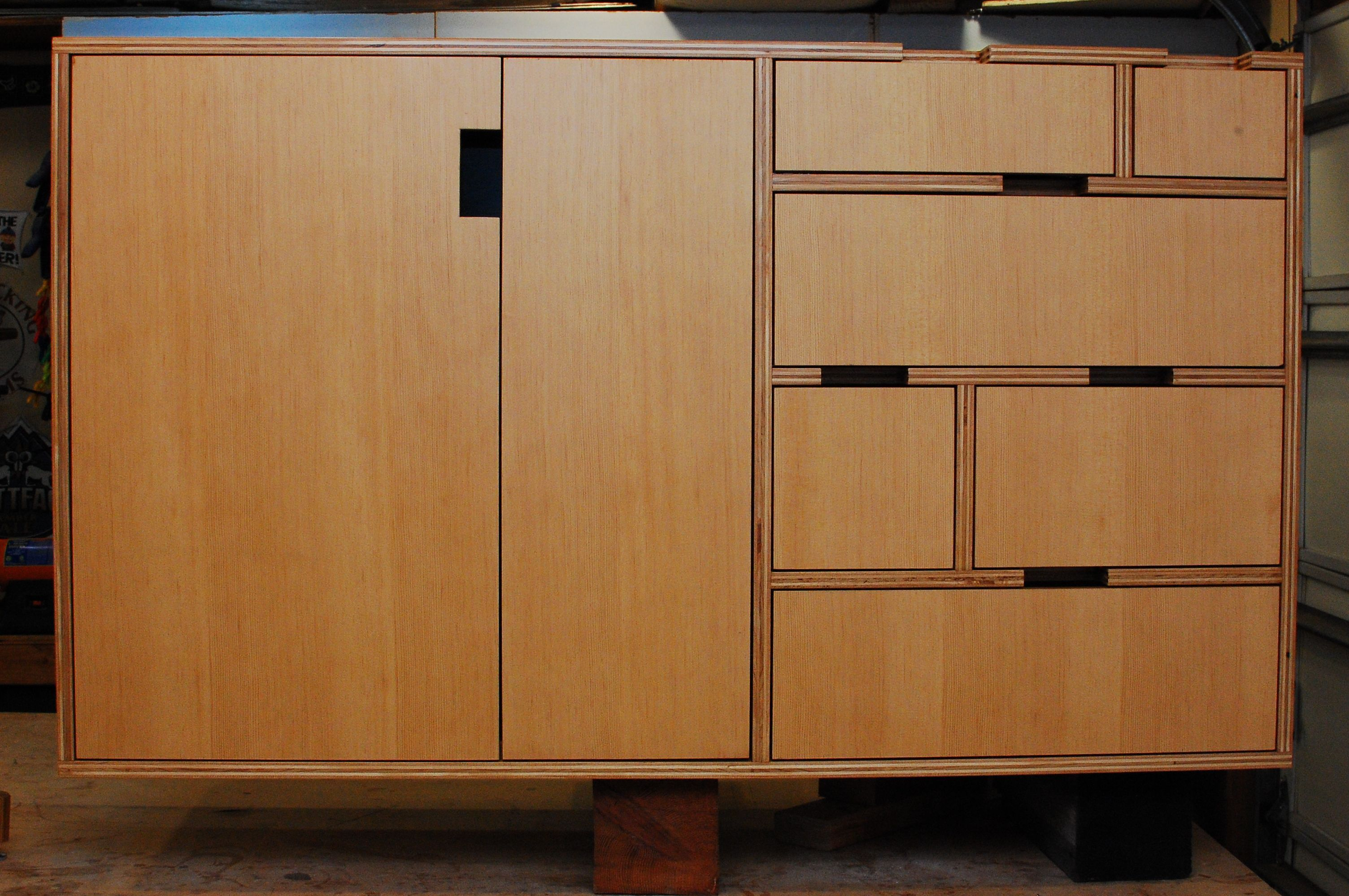 Creative Kerf Design For Your Home Furniture And Accessories: Prefinished  Plywood For Cabinets | Kerf