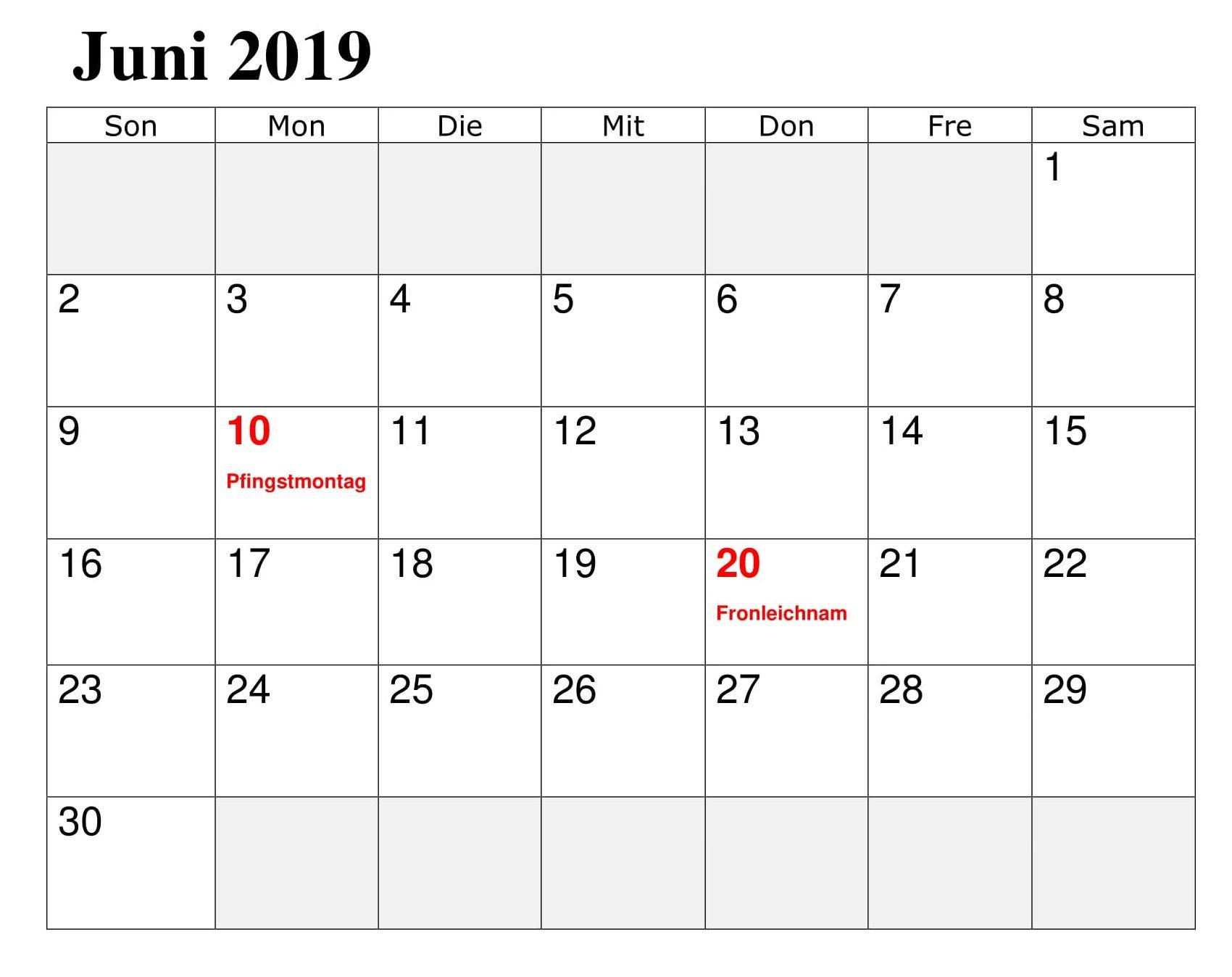 fronleichnam feiertag 2019