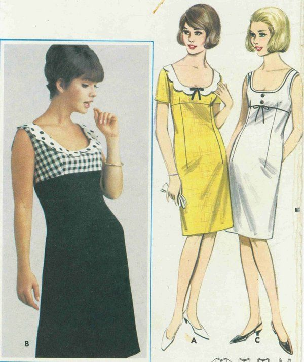 Empire Dresses of the 60s
