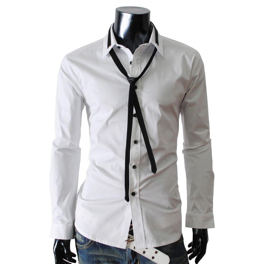 Mens Dress Shirts And Ties Image Of Mens Premium Skinny Tie