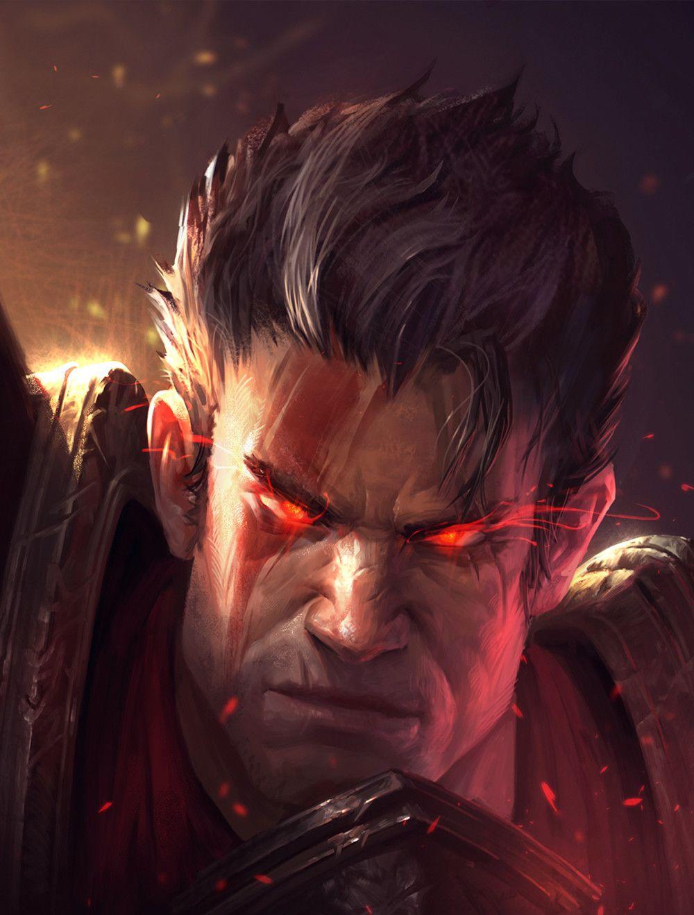 Darius By Johnny Zha League Of Legends In 2019 Pinterest
