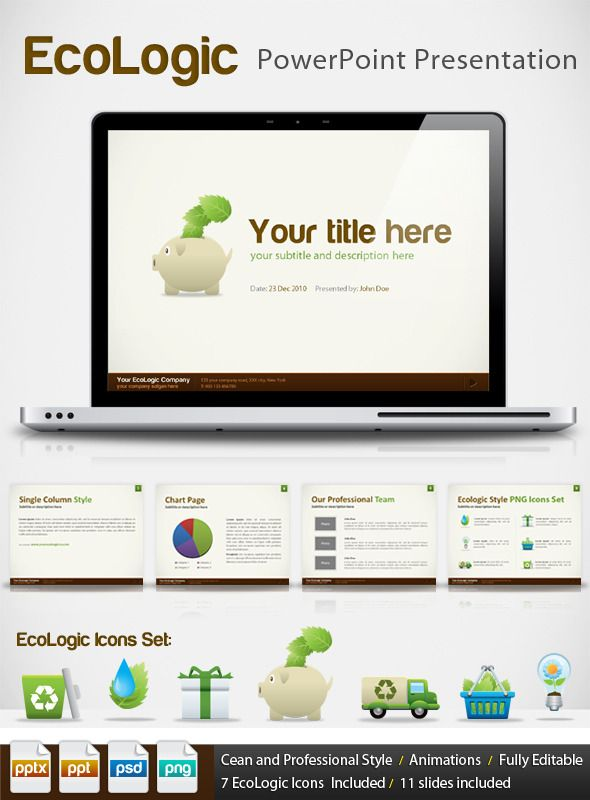 Ecologic Ppt Professional Powerpoint Presentation  Professional