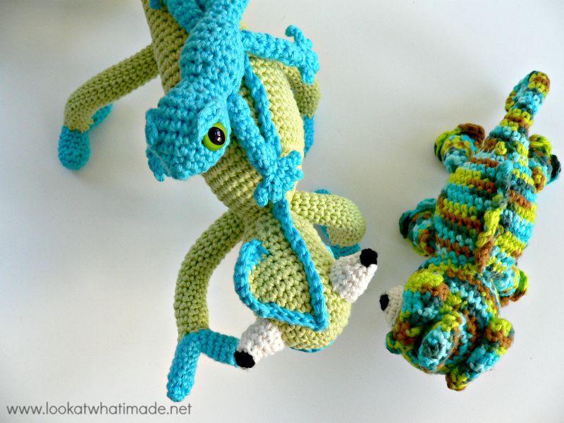 Crochet Lizard Patterns   Crochet   Pinterest