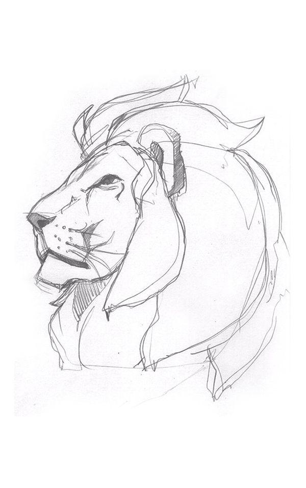 Stolz (Lion Illustration) auf Behance  Das schönste Bild für  Halloween Poster…