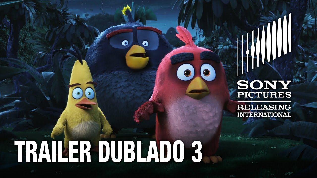 Angry Birds O Filme Trailer Dublado 3 12 De Maio Nos Cinemas