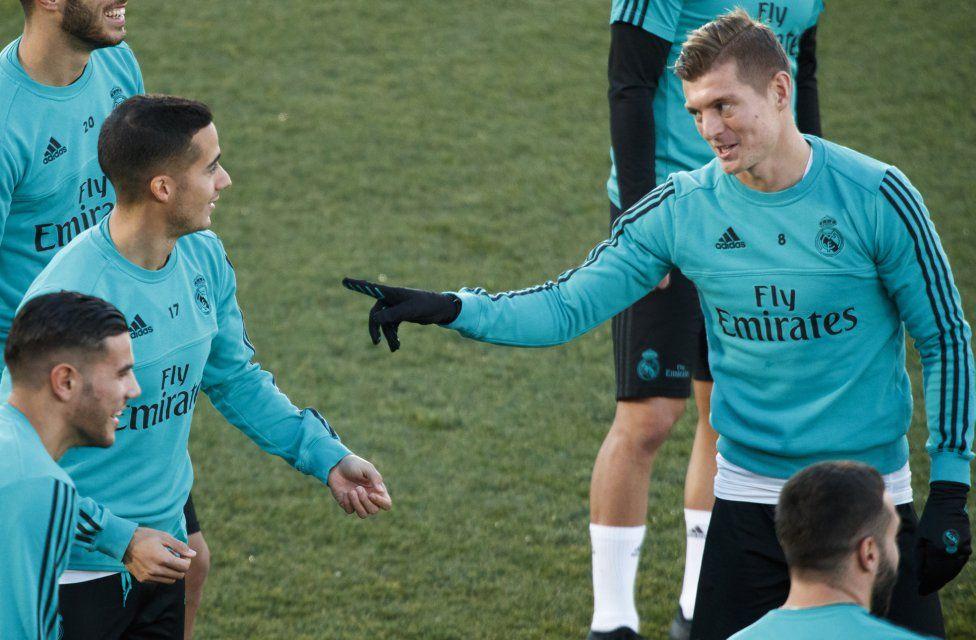 Toni Kroos Lucas Vazquez Realmadrid Real Madrid Lucas Vazquez Toni Kroos