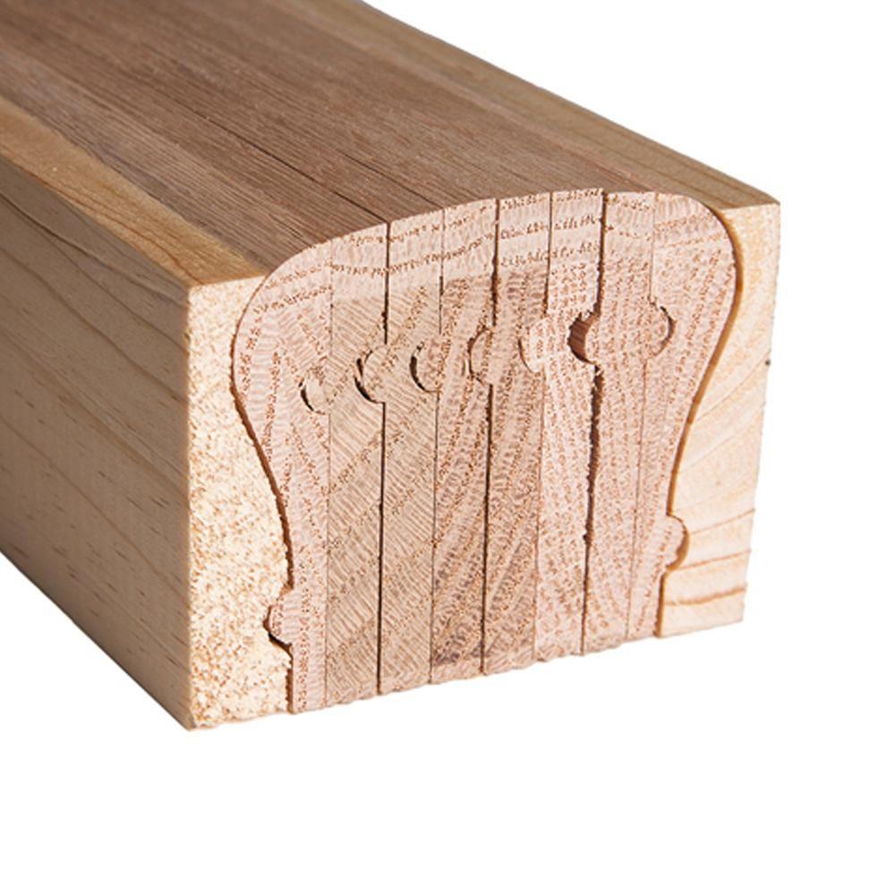 Best 6210 Bending Handrail – 10 Ft Wood Handrail Wood 400 x 300