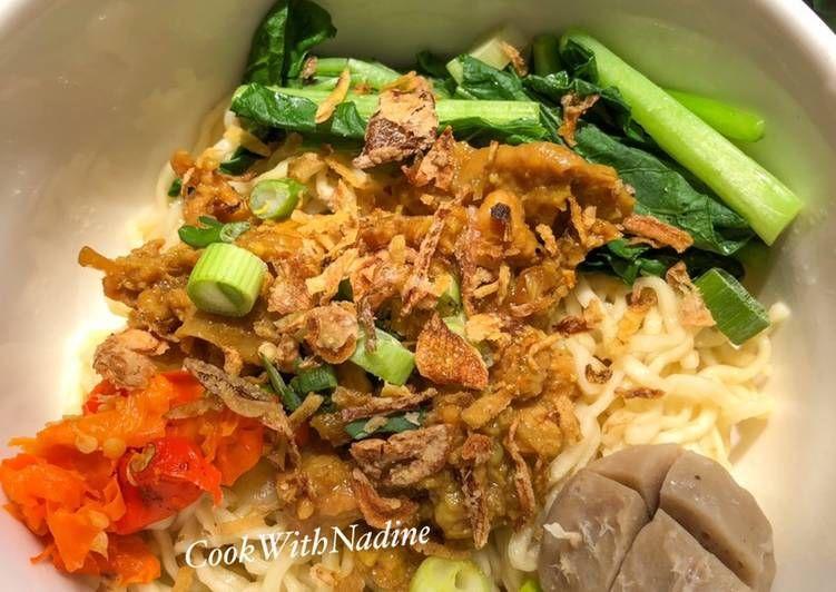 Recipe Tasty Mie Ayam Wonogiri Homemade