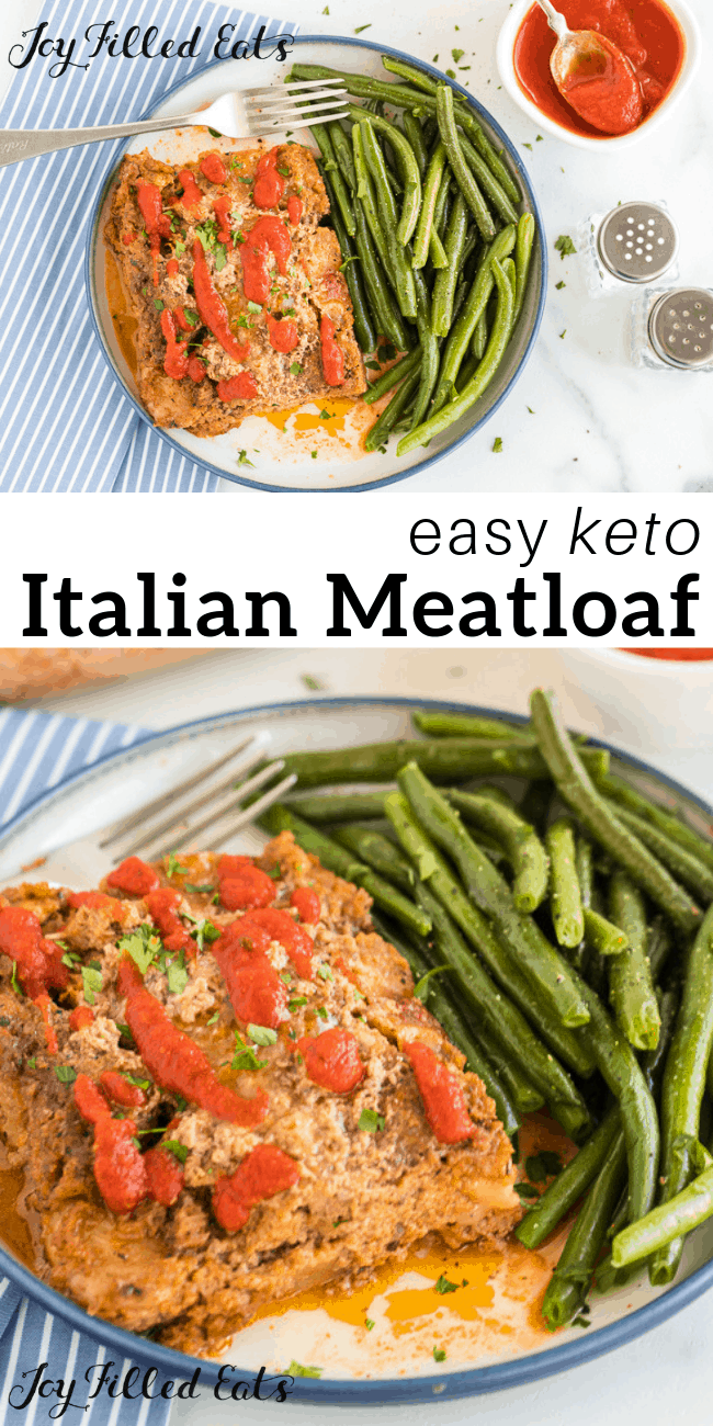 Easy Keto Italian Meatloaf Recipe Low Carb Grain Gluten Free Thm S Keto This Easy Groun Ground Turkey Meatloaf Italian Meatloaf Recipes Italian Meatloaf