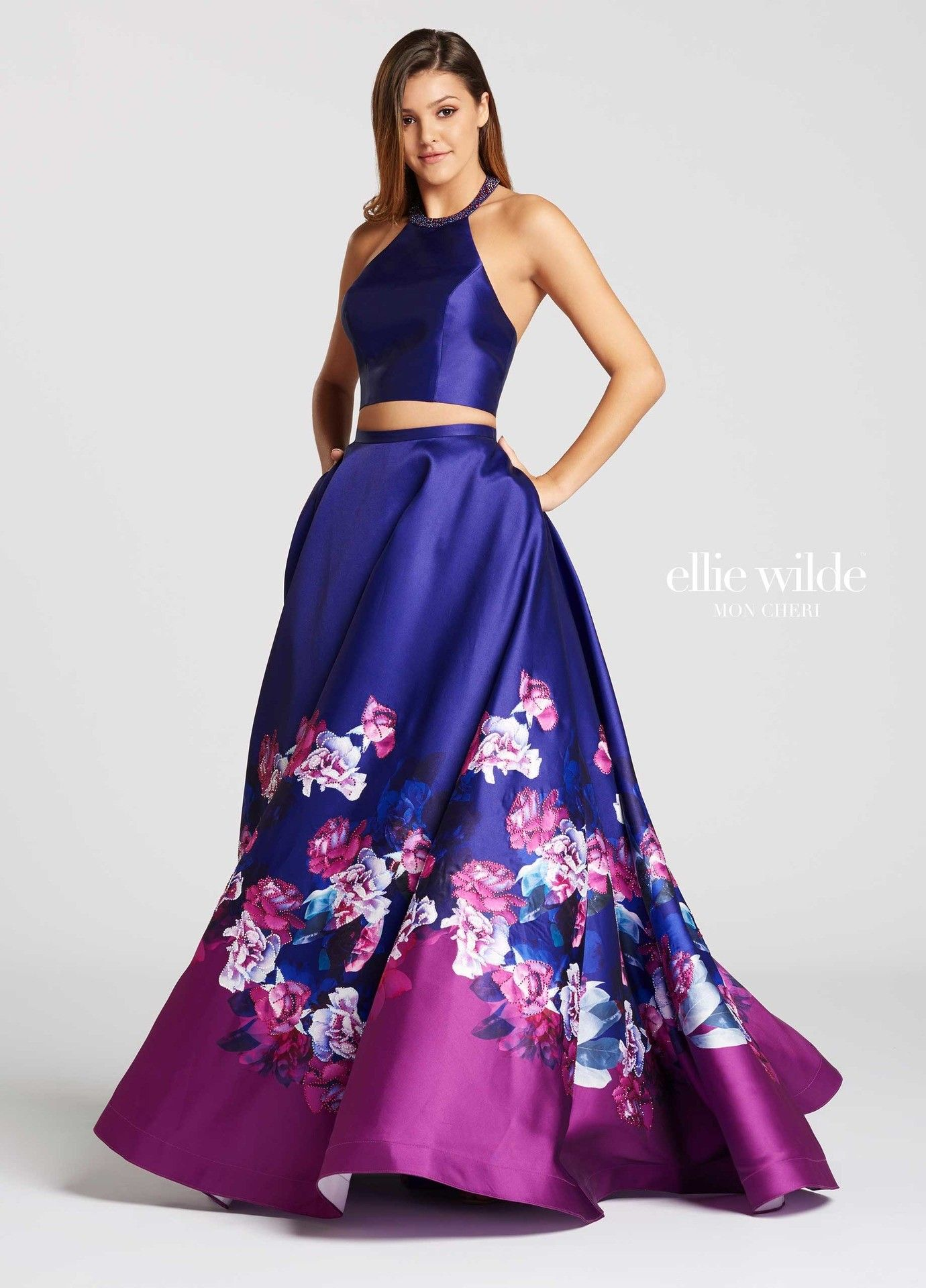 506a2e6abfb Shop the new 2018 prom dress collection from Ellie Wilde featuring Ellie  Wilde EW118001. Ellie Wilde for Mon Cheri features a collection full of  exclusive ...