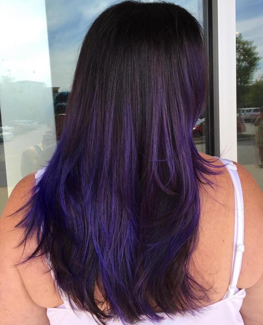 purple balayage ideas from subtle to vibrant purple balayage