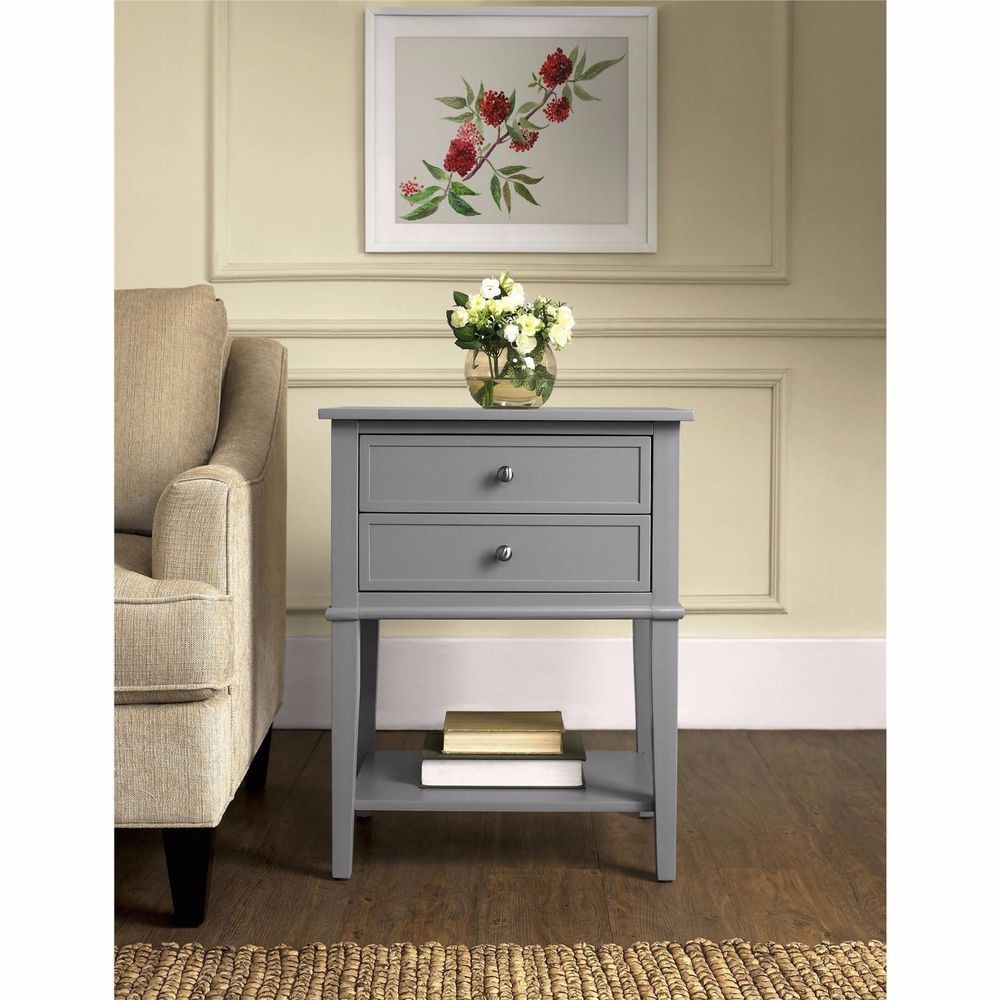 Best Bedside Table Small Accent End Tables With Storage Night 400 x 300