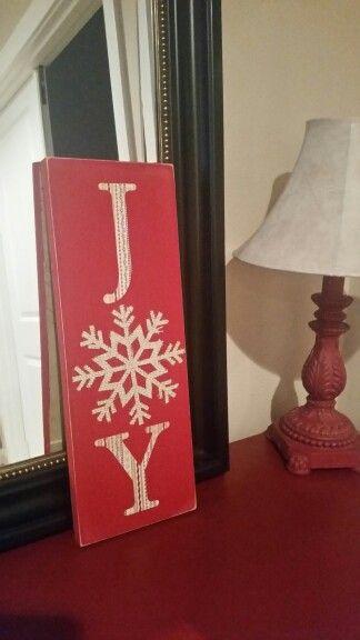 Joy sign!