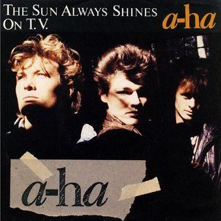 A Ha Day 23 The Sun Always Shines On Tv Hunting High And Low In