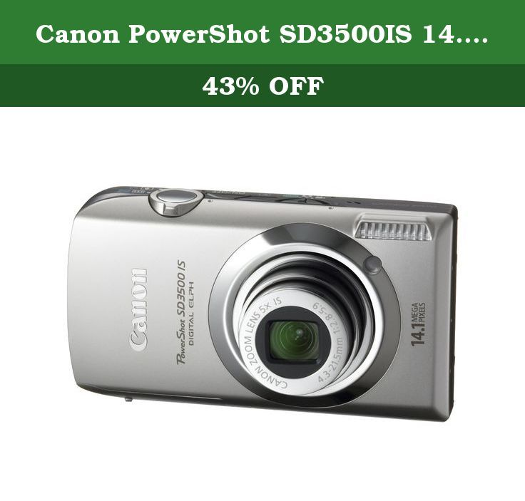 Canon Powershot Sd3500is 14 1 Mp Digital Camera With 3 5 Inch Touch Panel Lcd And 5x Ultra Wide Angle Optical Image Stab Digital Camera Powershot Optical Image