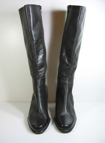 29d8314a526 BANDOLINO-BDVADEN-Womens-Leather-Dark-Brown-Knee-High-Fashion-BOOTS ...