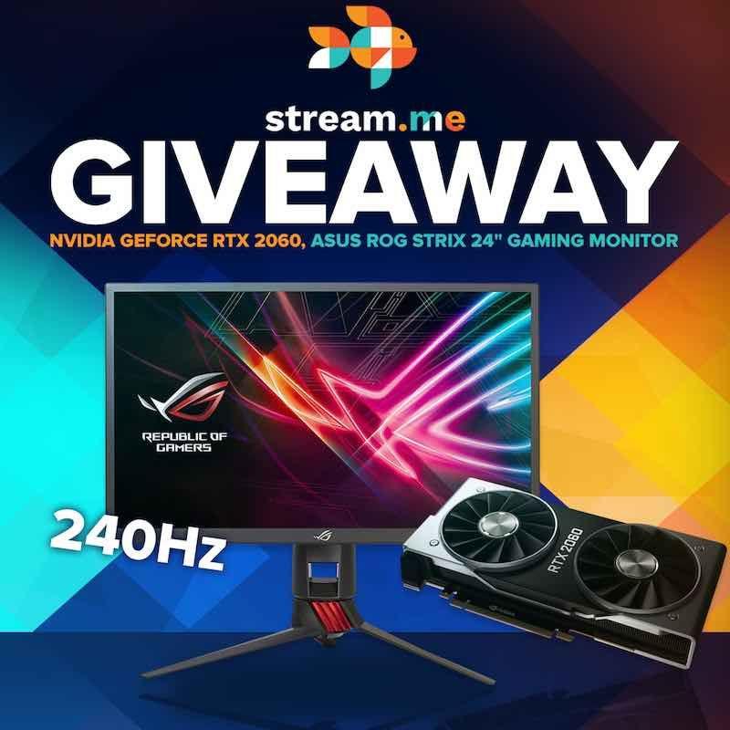 GeForce RTX 2060 GPU and Gaming Monitor - Best Of Gleam Giveaways