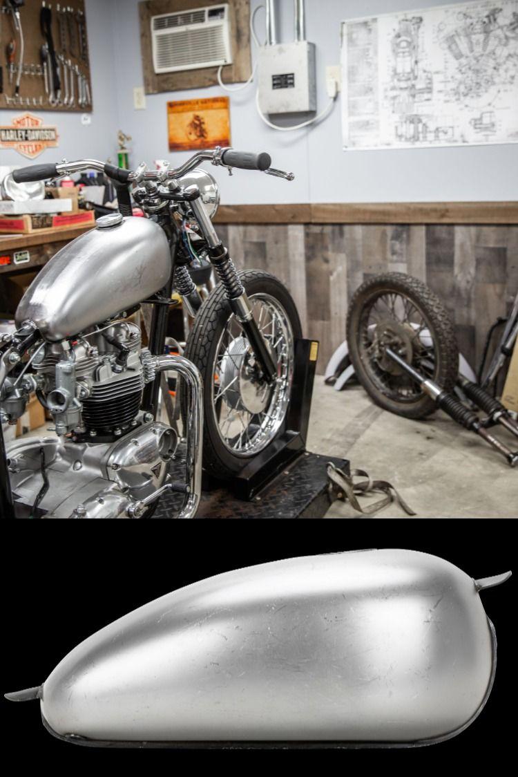Banana Gas Tank Deep Tunnel 1 8 Gallon Gas Tanks Gas Harley Davidson Style