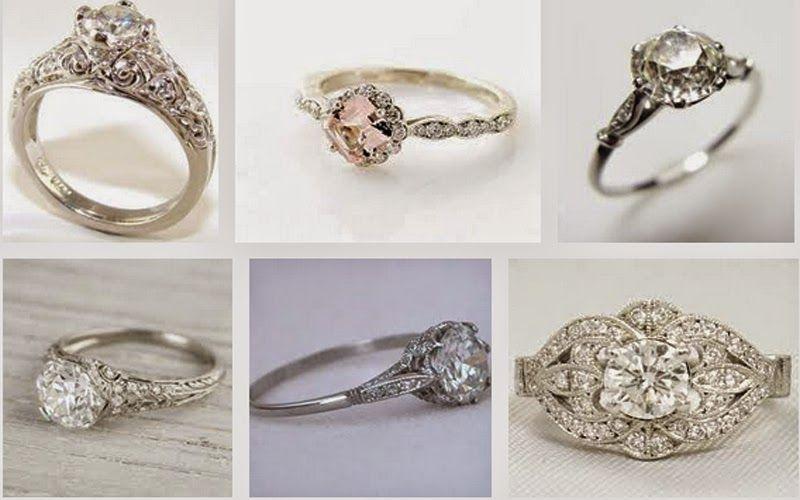 Heirloom Engagement Ring Etiquette Engagement Ring Etiquette Antique Engagement Rings Wedding Rings Vintage