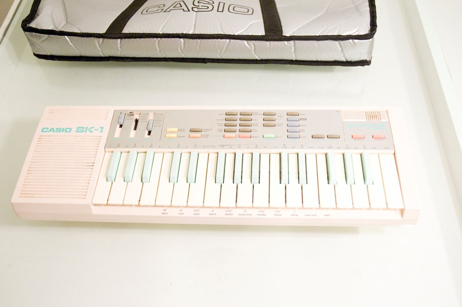 The Holy Grail Of Nerdom Pink Casio Sk 1 Sampling Keyboard Circuit Bent Sk1 Aliendevices