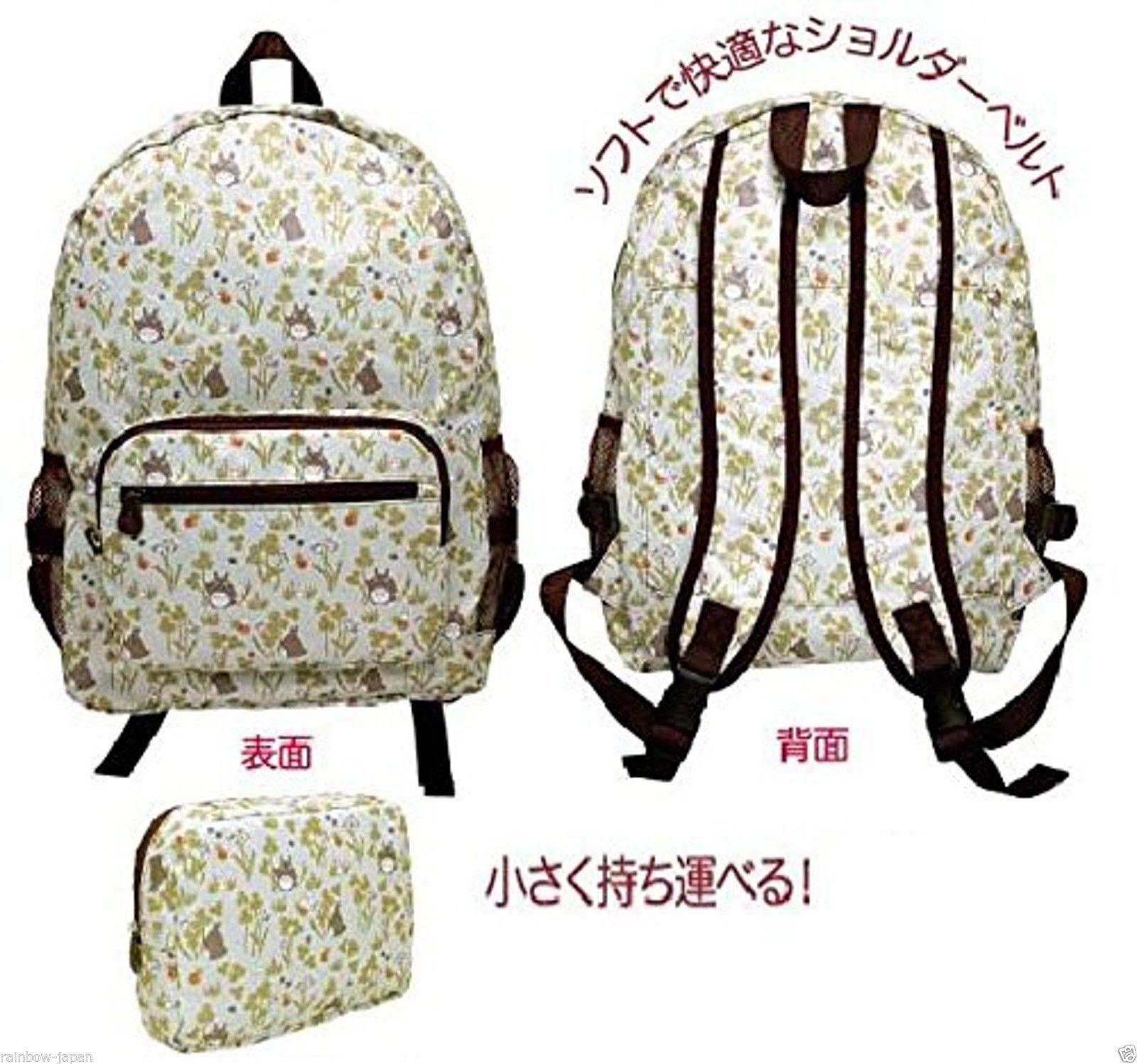 My Neighbor Totoro Compact Backpack Anime Studio Ghibli