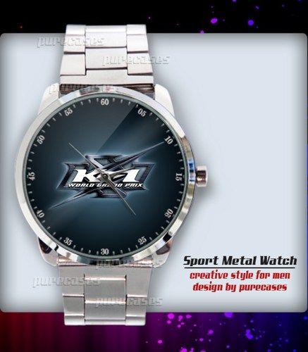 New Rare K-1 WORLD GRAND PRIX MMA FIGHTER KICKBOXINg Sport Metal Watch