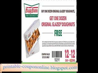 picture regarding Krispy Kreme Printable Coupons called Absolutely free Printable Krispy Kreme Discount coupons Discount coupons 2017