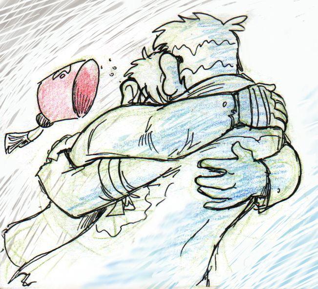Reunion hug by Demona-Silverwing on DeviantArt