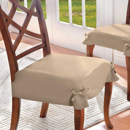 Awe Inspiring Microsuede Seat Cover Set Of 2 Dining Chair Covers Dining Theyellowbook Wood Chair Design Ideas Theyellowbookinfo
