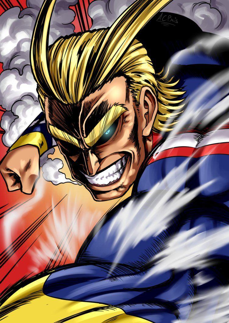 All Might By Acpuig My Hero Academia Hero Hero Wallpaper