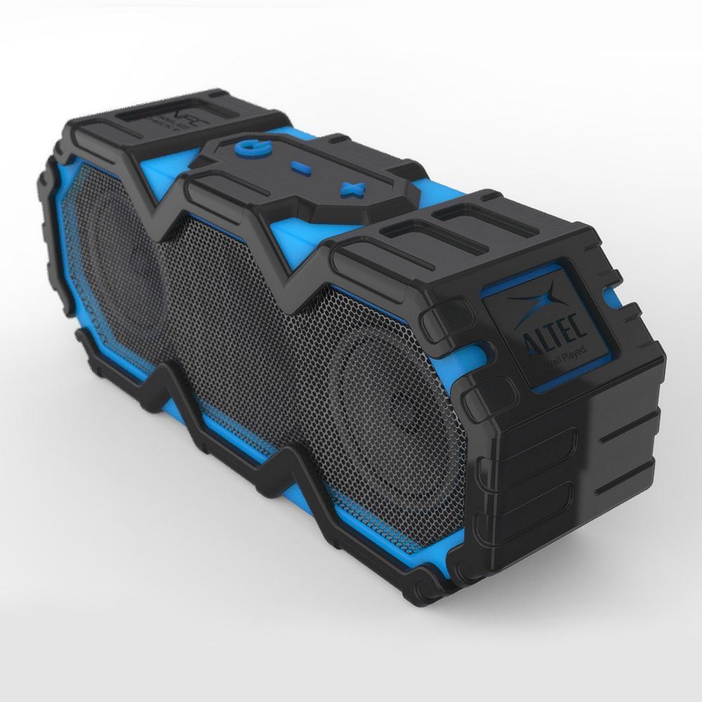 Altec Lansing Life Jacket Portable Bluetooth Waterproof Speaker Blue