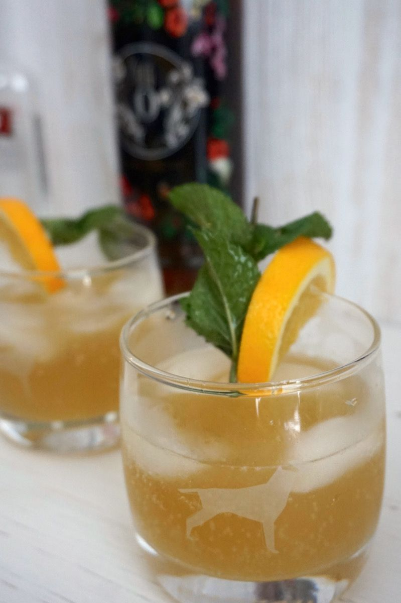 Citrus ginger spritzer southern recipes
