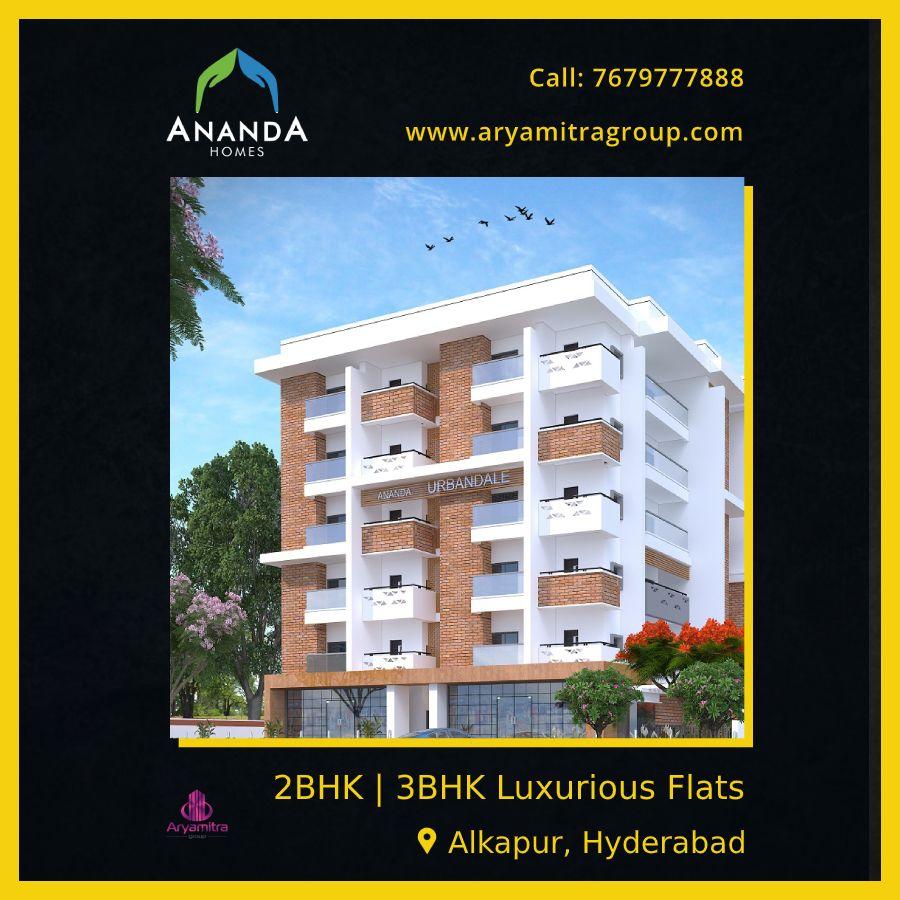 Available 2bhk & 3bhk luxury flats for sale near alkapur