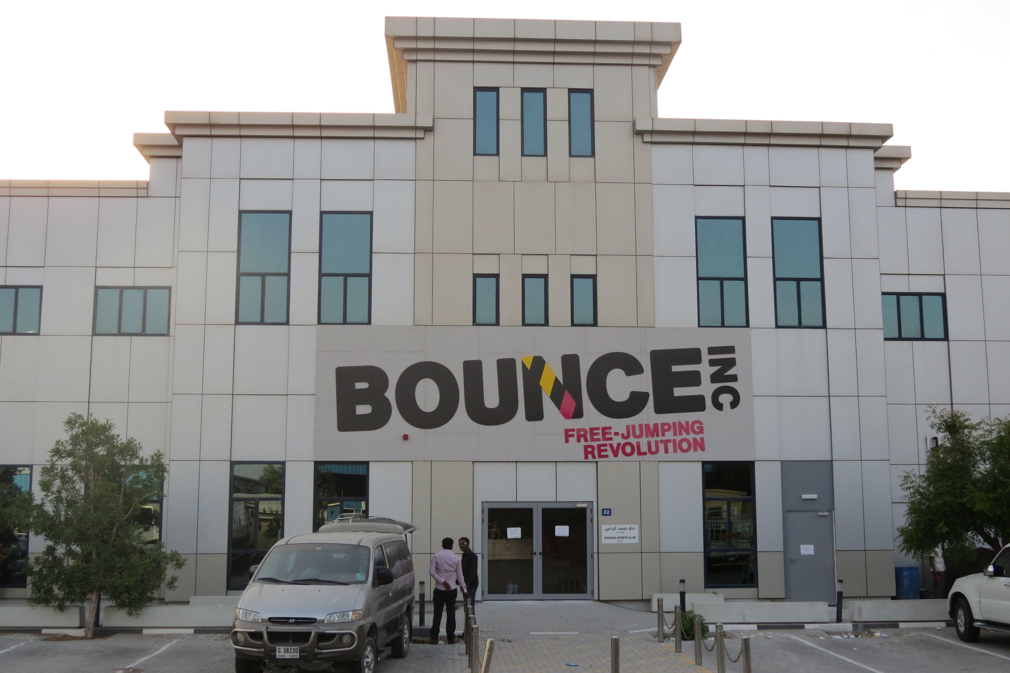 #bounce - Dubai Logo sign by Adwaasign center