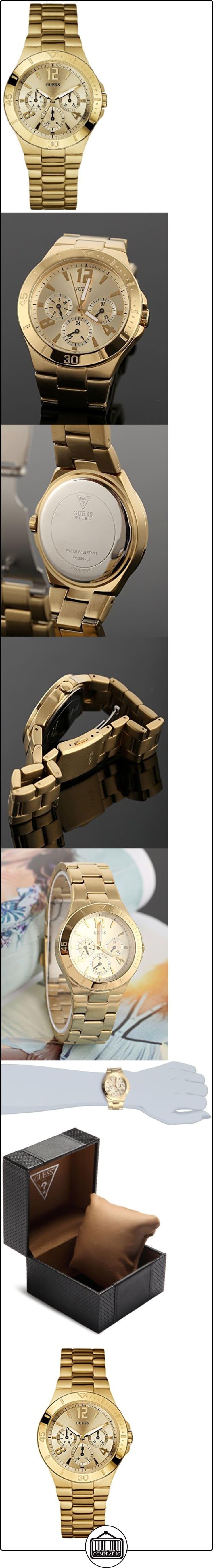 Guess Vespa W13545L1 - Reloj de mujer de cuarzo, correa de acero inoxidable color oro  ✿ Relojes para mujer - (Gama media/alta) ✿