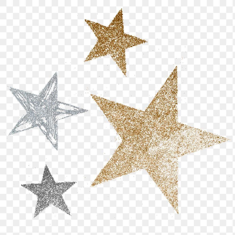 Festive Glitter Stars Sticker Transparent Png Free Image By Rawpixel Com Adj Transparent Stickers Star Stickers Glitter Stars