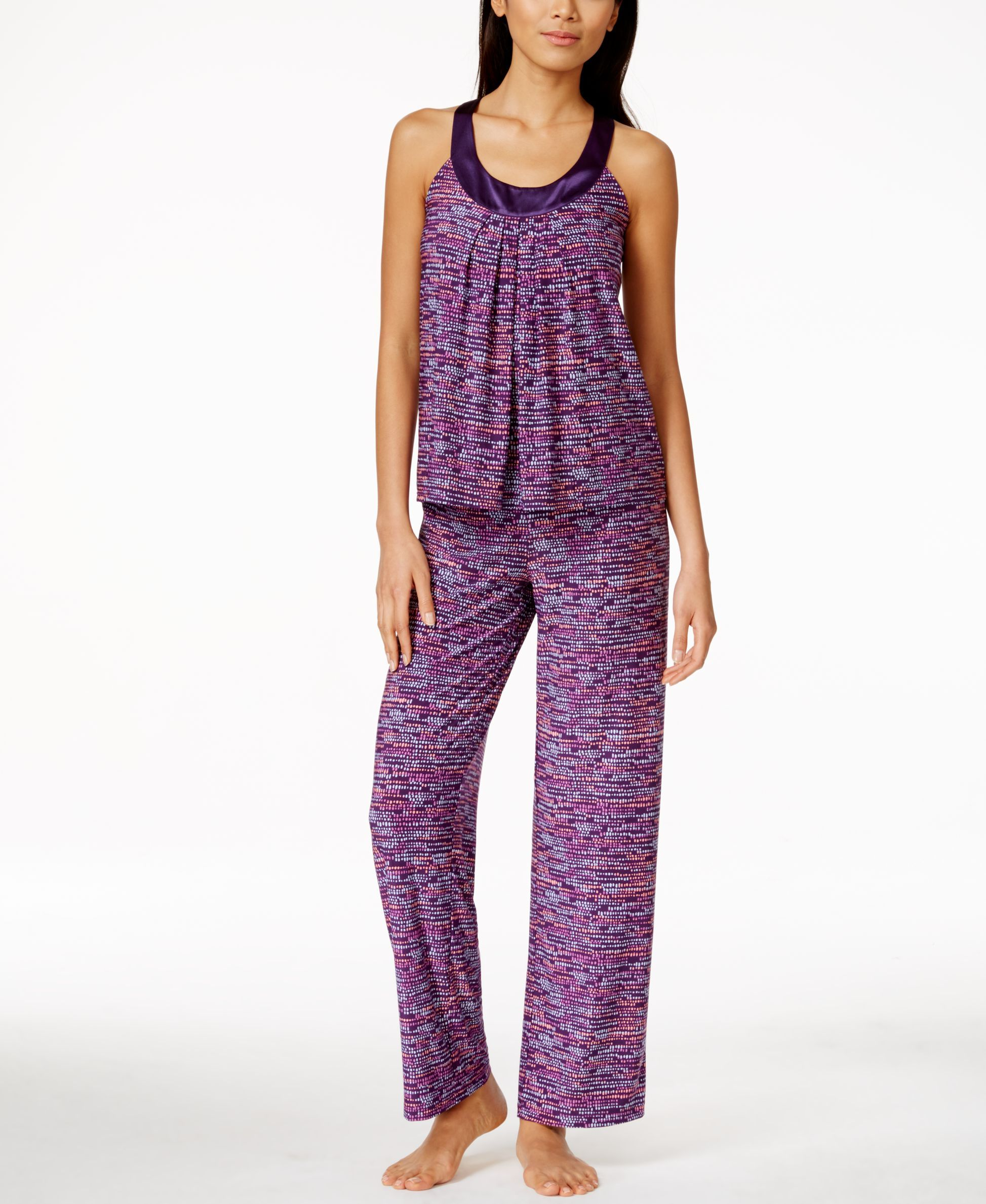 25e983d284c8 Alfani Printed Top and Pajama Pants Set, Only at Macy's | Products