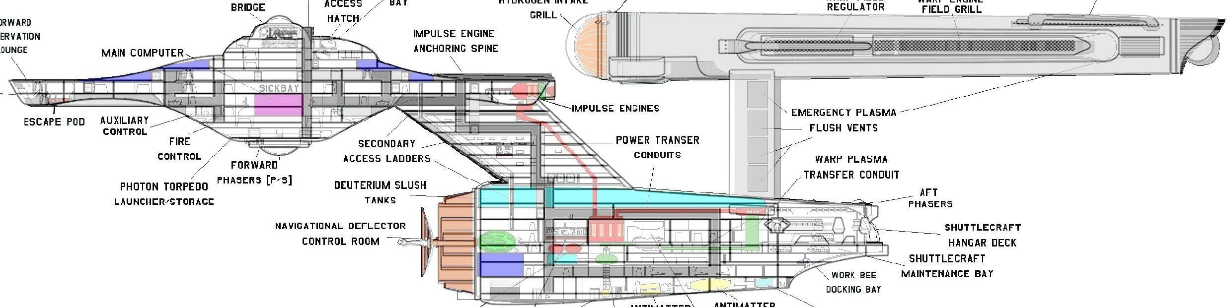 100 Starship Deckplan Google Search