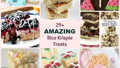 WHITE CHOCOLATE CRANBERRY RICE KRISPIE TREATS - Butter with a Side of Bread #ricekrispiestreats