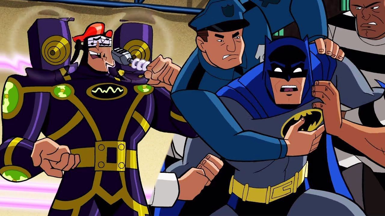 Batman The Brave And The Bold Will Batman Defeat The Music
