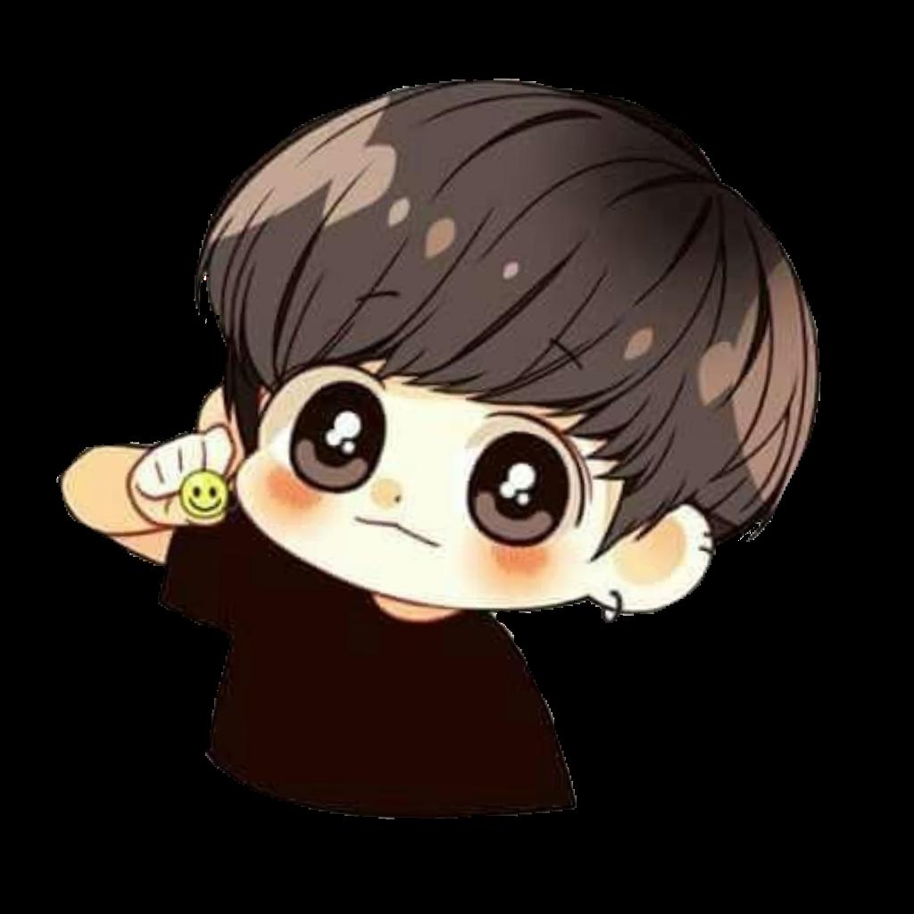 bts jungkook cute chibi bts_jungkook... Dibujos chibi