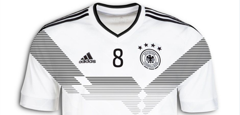 The Germany 2018 World Cup Kit Will Bring Back One Of The Country S Most Iconic Jersey Designs Of All Time Team Wear Sport Outfits Jersey Design