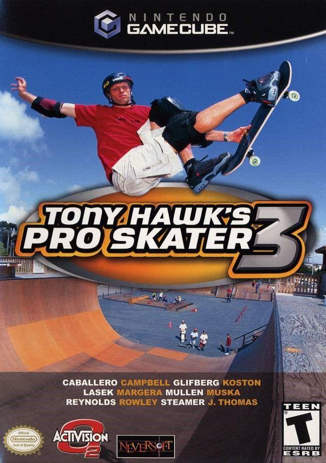Tony Hawks Pro Skater 3 Tony hawk pro skater, Pro