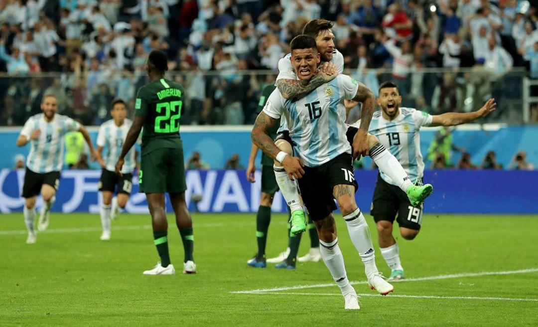 ¡MARCOS TE LLEVA A OCTAVOS! Con Un Gol De #Messi Y Otro De
