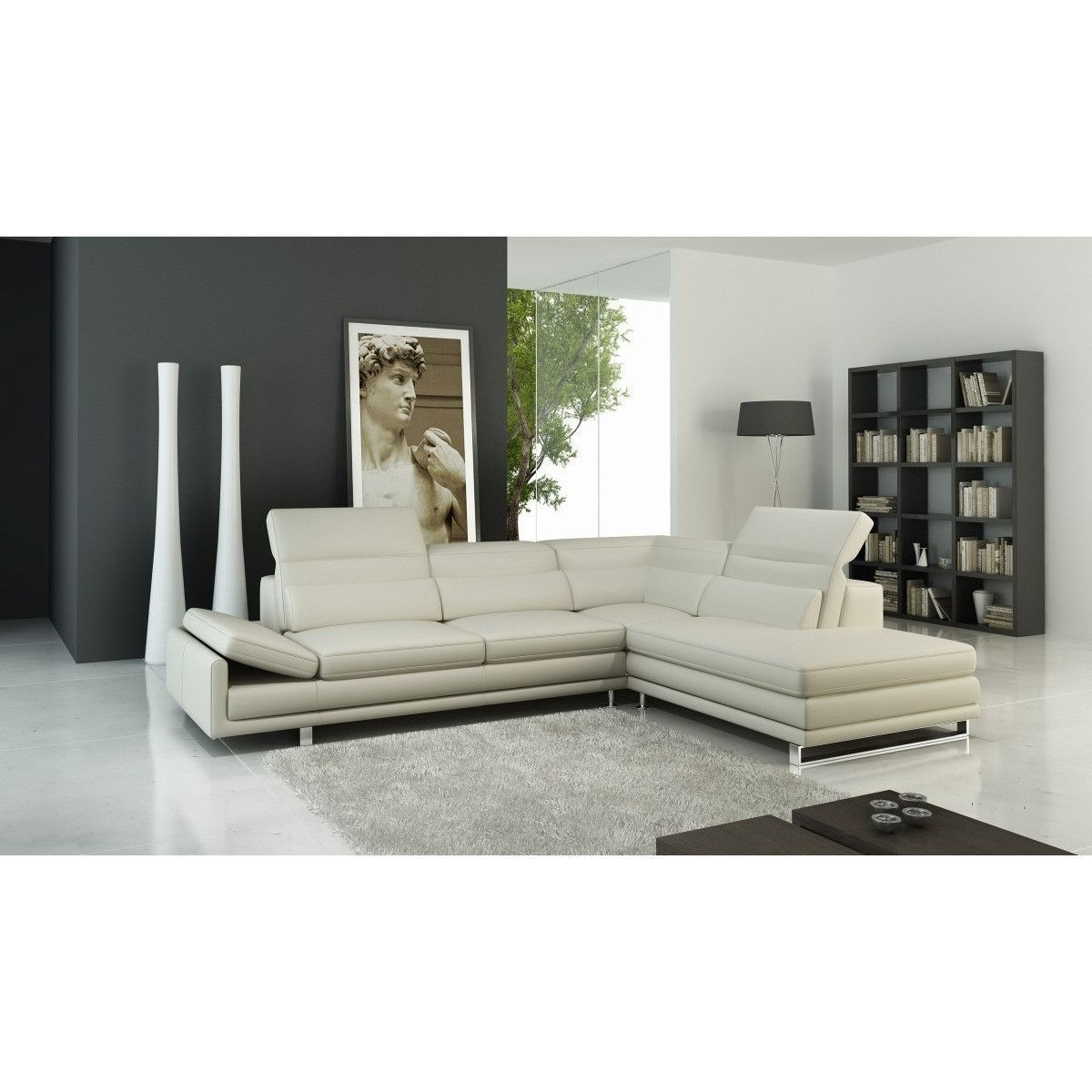 Divani Casa 958 Modern Italian Leather Sectional Sofa Products