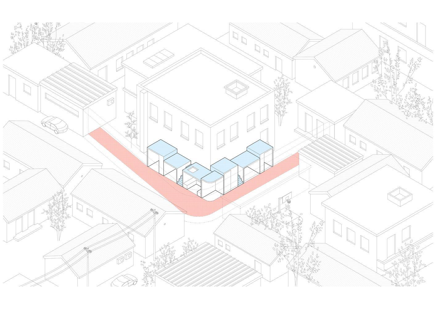 Galeria De Casa Dengshikou Hutong B L U E Architecture Studio