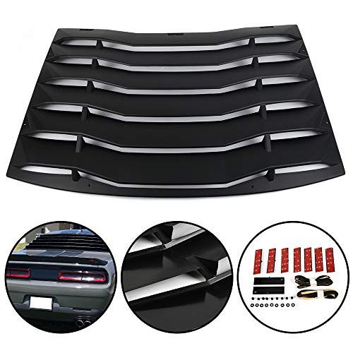 G-PLUS Rear Window Vent Louver For Dodge Charger 2011-202