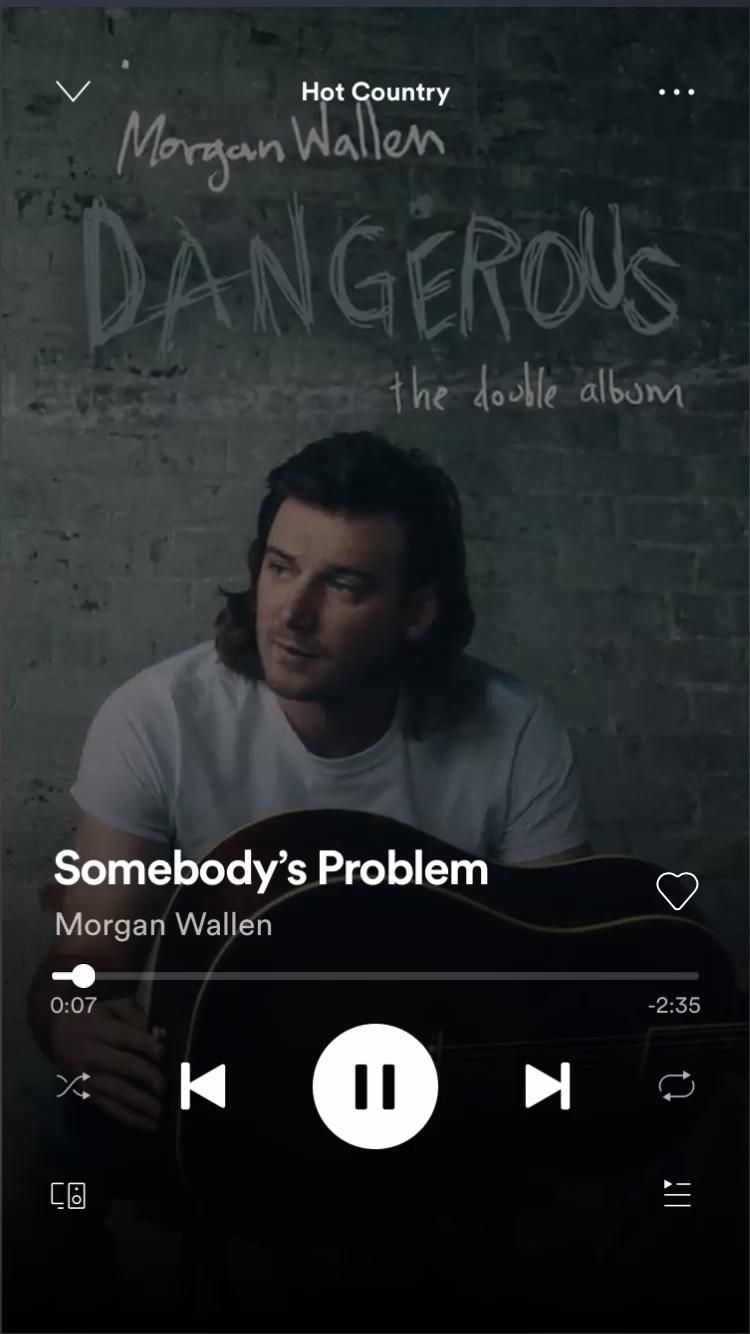Somebody S Problem Morgan Wallen Video In 2021 Country Music Music Quotes Country Music Lyrics