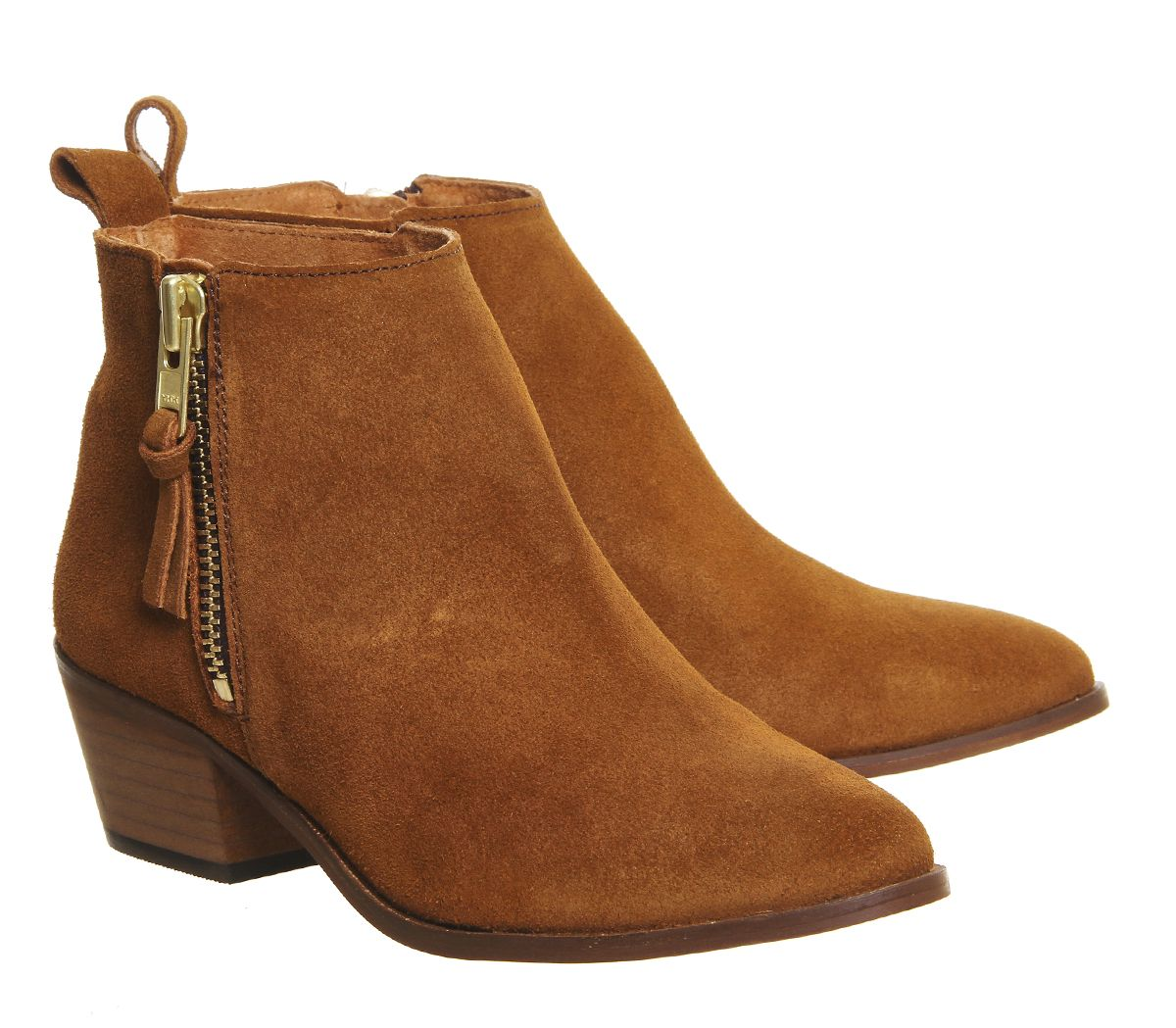 Boots Suede Ankle